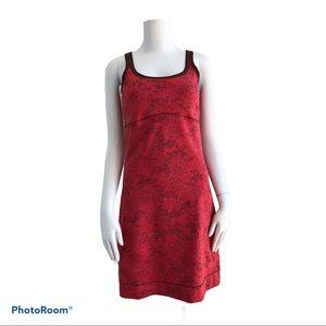Lole Root Red Sun Dress Sz S
